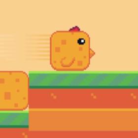 像素堆叠鸟苹果版
