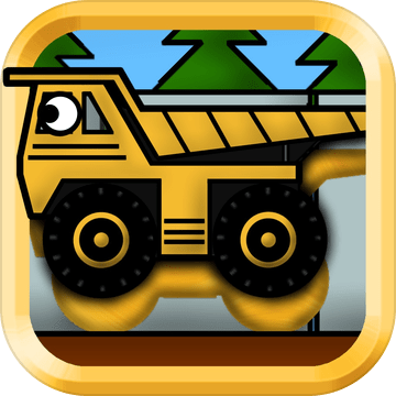 儿童卡车:谜语 - 教育版